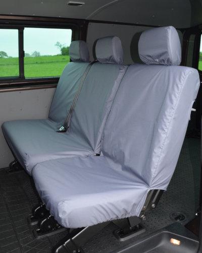 VW Transporter Kombi T6 Seat Covers 2nd Row - Grey