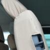 VW Transporter Kombi T6 Easy Entry Seat Covers in Cream
