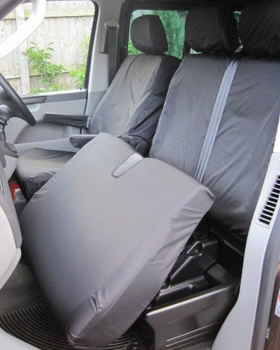 VW Transporter Front Passenger Seat Covers