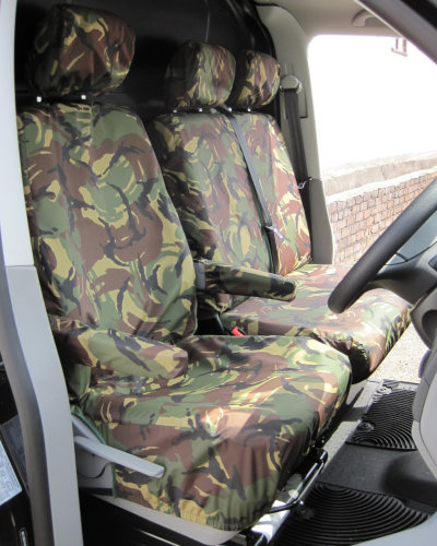 VW Transporter Camouflage Seat Covers