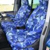 VW Transporter Single Passenger Seat Covers