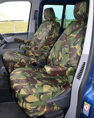 VW Transporter T5 Single Seat Covers