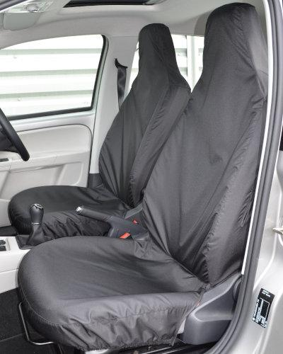 VW up Front Seat Covers - Black