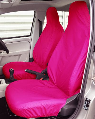 VW up Front Seat Covers - Pink