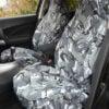 Grey Camo Seat Covers