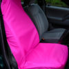 Front Seat Cover - Bright Neon Pink