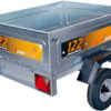 Small Steel Trailer - Unbraked