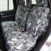 Camo Waterproof Covers for 3 Rear Seats in Discovery 4