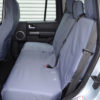 Grey Waterproof Rear Seat Covers - Discovery 4