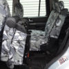 Grey Camouflage Covers for 3 Rear Seats in Discovery 4