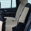 Cream Rear Covers for 3 Folding Seats for Discovery 4