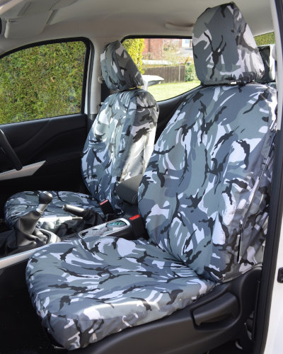 Mercedes X-Class Tailored Camo Front Seat Covers