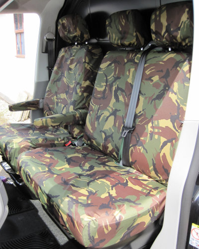 VW Transporter T6 Passenger Seat Covers