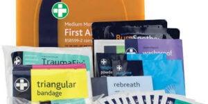 Medium Motoring First Aid Kit Contents