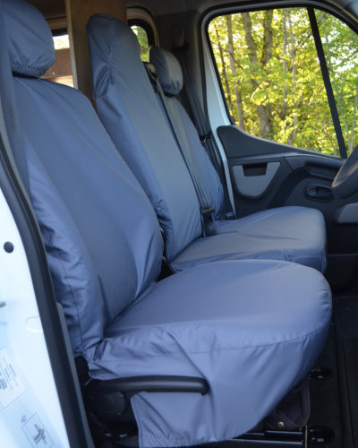 Renault Master Seat Covers Grey