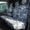 Renault Master Van Seat Covers Camo