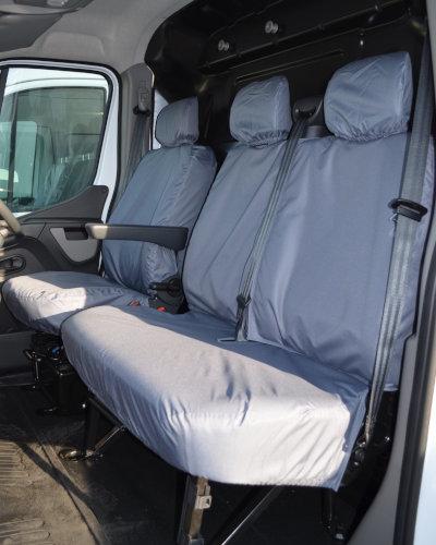 Renault Master Van Grey Seat Covers