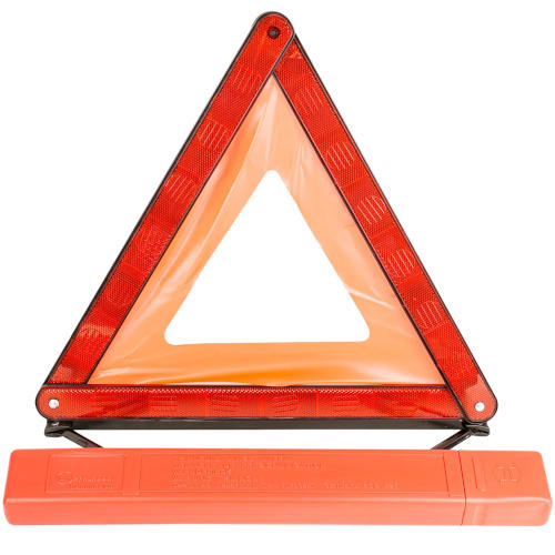 Road Warning Triangle with Case