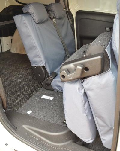 Vauxhall Combo D Crew Van Grey Seat Covers