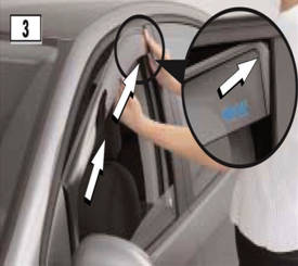 Wind Deflector Fitting Instructions
